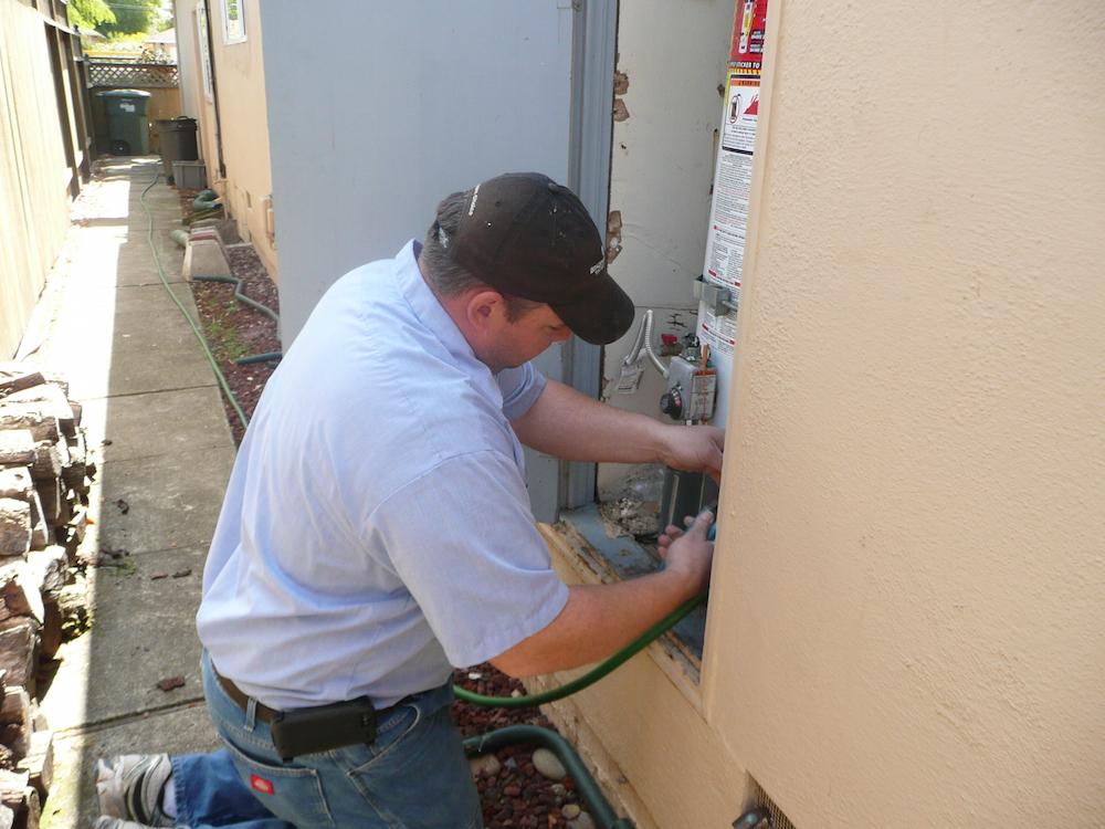 gas line repair redwood city ca