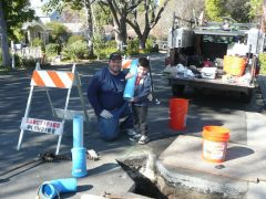 Redwood City plumber - sewer repair