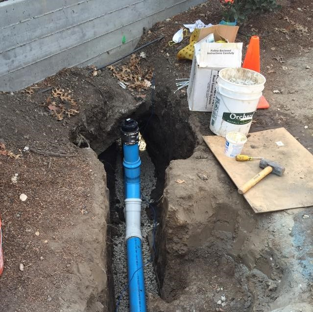 sewer line replacement redwood city ca