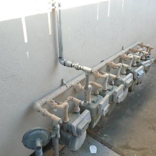 gas line installation menlo park
