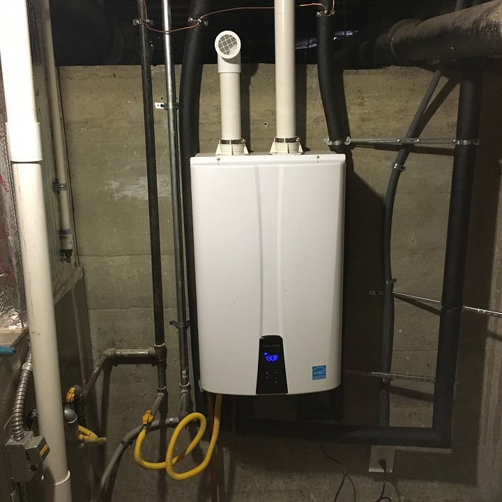 tankless water heater Redwood City CA