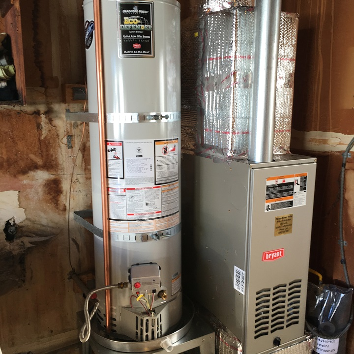 water heater installation redwood city ca