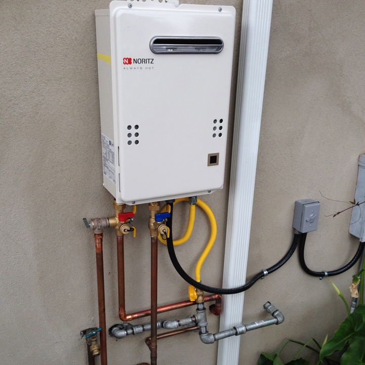 Tankless Water Heater Installation - Redwood City CA