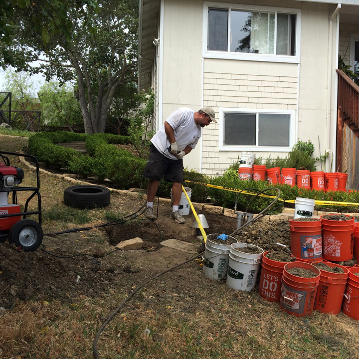 trenchless sewer replacement menlo park